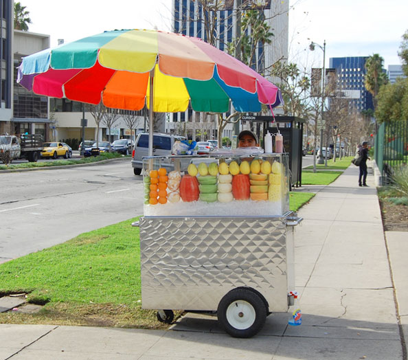 Image result for food push cart