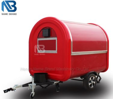 Small Scale Food Truck Trailer