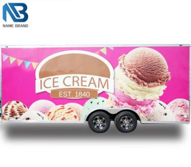 Ice cream Food Trailer