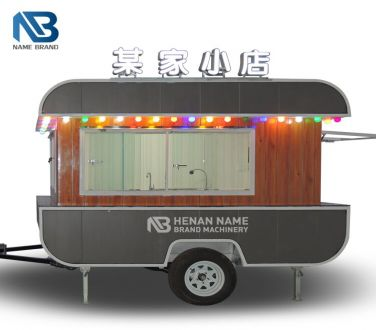 Retro Food Trailer Truck