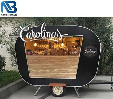Retro Mobile Food Trailer