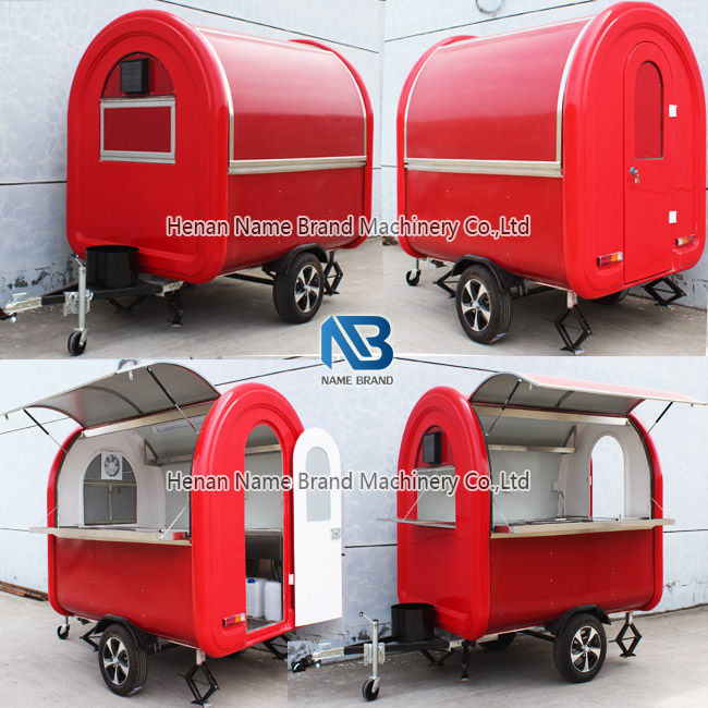 small scale food trailer