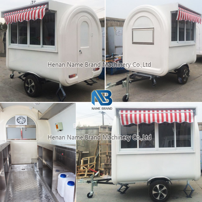 bbq food trailer