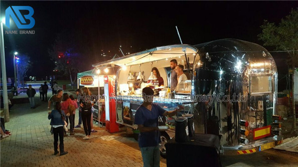 Stainless steel food truck