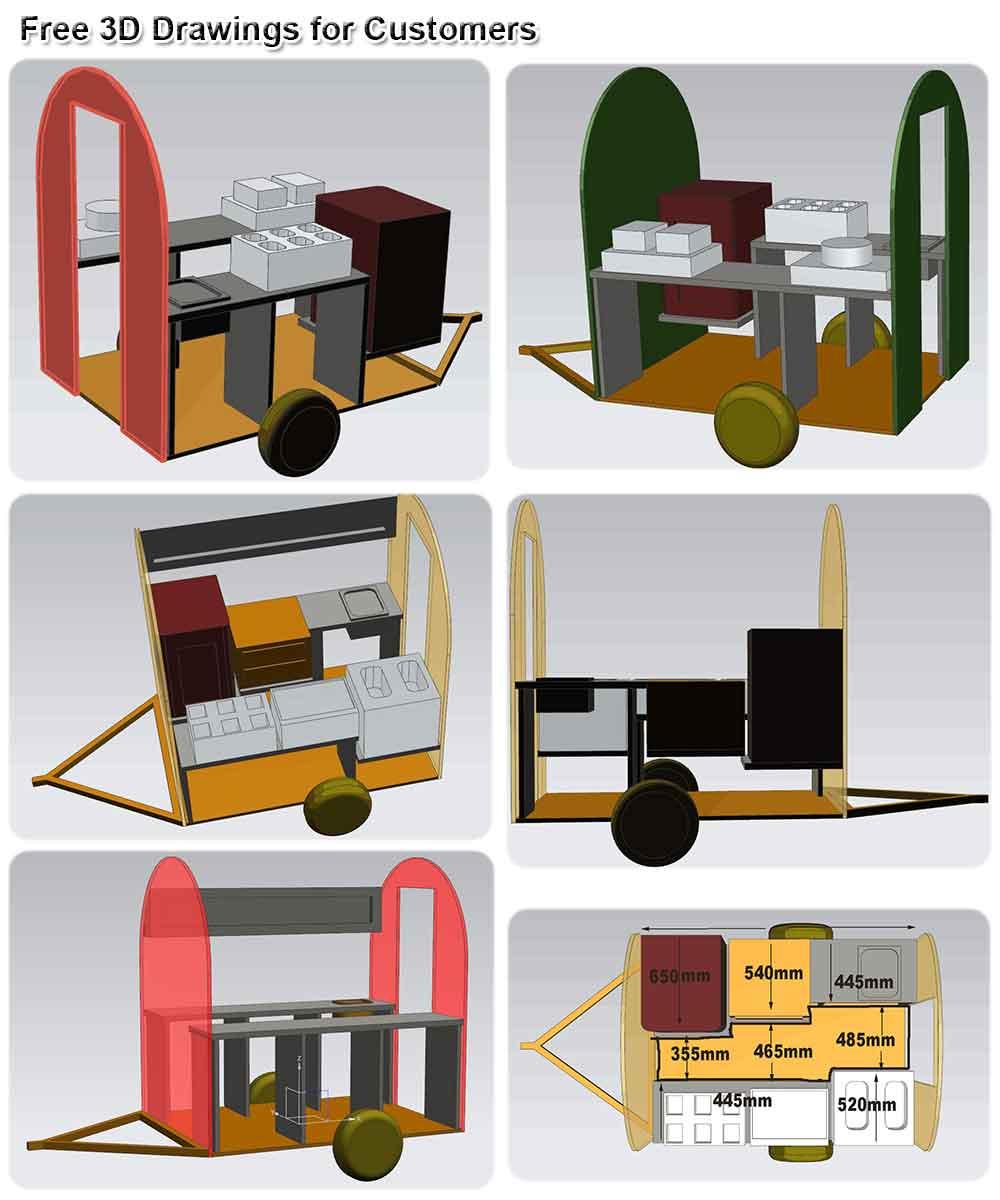 food-trailer-3D-drawings
